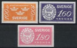 Zweden, michel 1267/69, xx