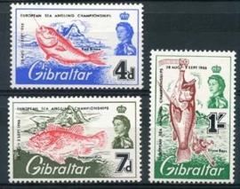 Gibraltar , michel 179/81 , xx