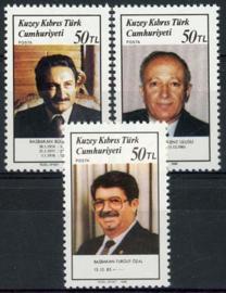 Turks Cyprus, michel 228/30, xx