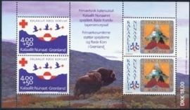Groenland, michel blok 4, xx
