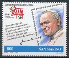 S.Marino, michel 1802, xx