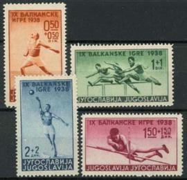 Joegoslavie, michel 362/65, x