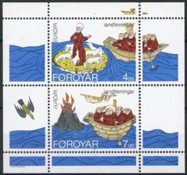 Faroer, michel blok 7, xx