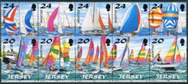 Jersey, michel 831/40, xx