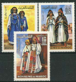 Marokko, michel 645/47, xx