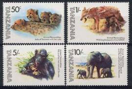 Tanzania, michel 201/04, xx