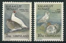 Groenland, michel 176/77 , xx