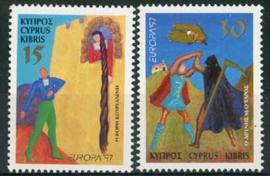 Cyprus, michel 897/98, xx