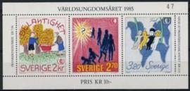 Zweden, michel blok 13, xx