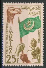 Mauretanie, michel 161, xx