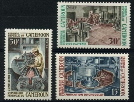 Cameroun, michel 566/68, xx