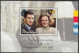 Liechtenstein, michel blok 15, xx