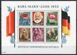 DDR, michel blok 8 A, xx