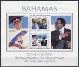 Bahamas, michel blok 33, xx