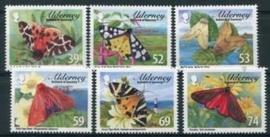 Alderney, michel 446/51, xx