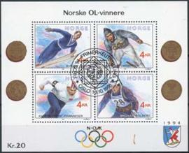 Noorwegen, michel blok 16, o