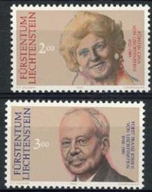Liechtenstein, michel 988/89, xx