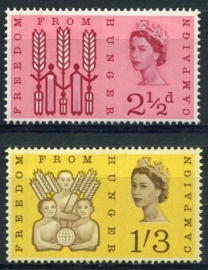 Engeland, michel 354/55 y, xx