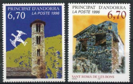 Andorra Fr., michel 503/04, xx
