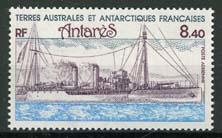 Antarctica Fr., michel 166, xx