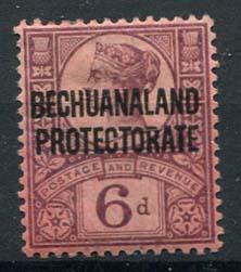 Bechuanaland, michel 51, x