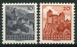 Liechtenstein, michel 222/23, xx