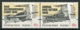 Christmas Isl., michel 411/12, xx