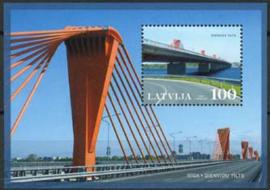Letland, michel blok 28, xx