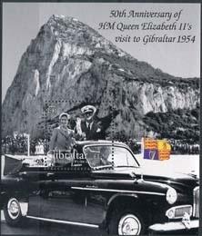 Gibraltar , michel blok 59 , xx