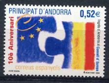 Andorra Sp., michel 317, xx