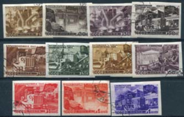 Sovjet Unie, michel 1168/78 B, o