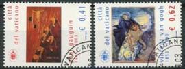 Vaticaan, michel 1461/62, o