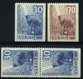 Zweden, michel 441/42,xx