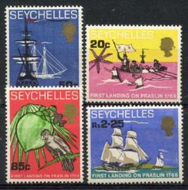 Seychelles, michel 250/53, xx
