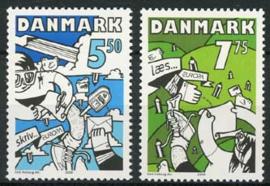 Denemarken, michel 1501/02, xx