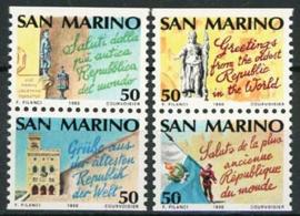S.Marino, michel 1447/50, xx