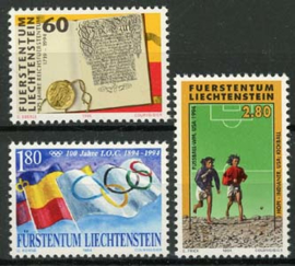 Liechtenstein, michel 1081/83, xx