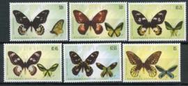 Papua N. Guinea, michel 955/60, xx