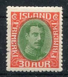 IJsland, michel 163, xx