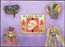 Belgie, obp blok 70, xx