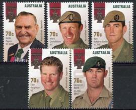 Australie, michel 4244/48, xx
