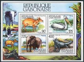 Gabon, michel blok 49, xx