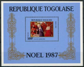 Togo, michel blok 299, xx