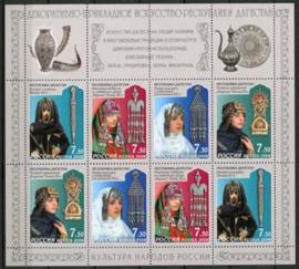 Rusland, michel kb 1522/25, xx
