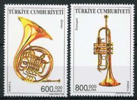 Turkije, michel 3355/56, xx