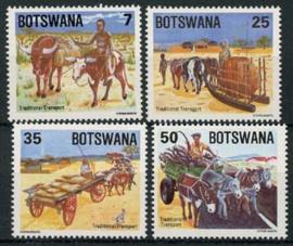 Botswana, michel 341/44, xx