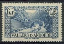 Andorra Fr., michel 64, x