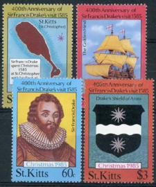 St.Kitts, michel 168/71, xx