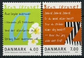 Denemarken, michel 1271/72, xx