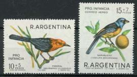 Argentinie, michel 952/53, xx